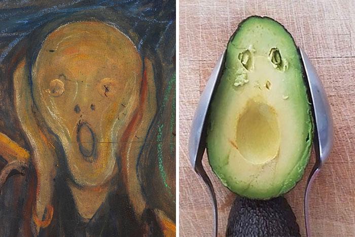 30 pessoas que decidiram recriar obras de arte durante a quarentena